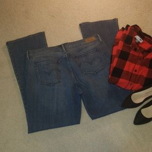 Mid Rise Skinny Boot Jeans Size 16M